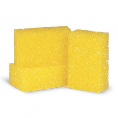 999037 Губка желтая повышенной плотности для удаления следов насекомых