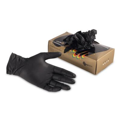 Au-075 Перчатки резиновые размер XL комплект 100 шт
