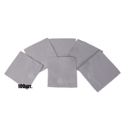 Au-1044/100 Салфетки для нанесения защитных составов 10*10 см серые уп-ка 100 шт.