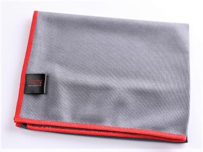 SGCB Glass Microfiber Towel - микрофибра для протирки стекол 40*40см 300 г/м2 серая SGGD128