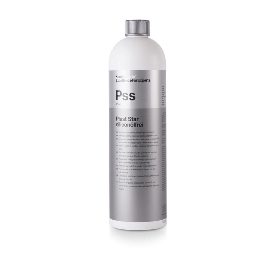 173001 PLAST STAR siliconolfrei Средство по уходу за резиной, шинами и пластиком 1л.