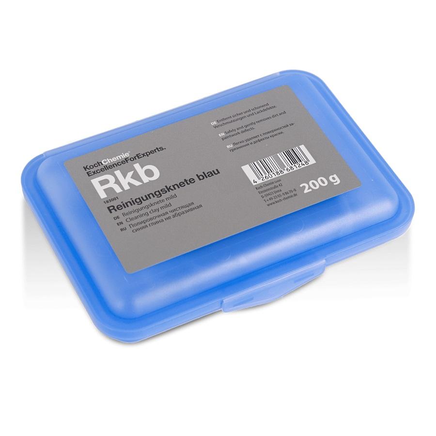 183001 REINIGUNGSKNETE Blau Полировочная синяя глина 200гр.