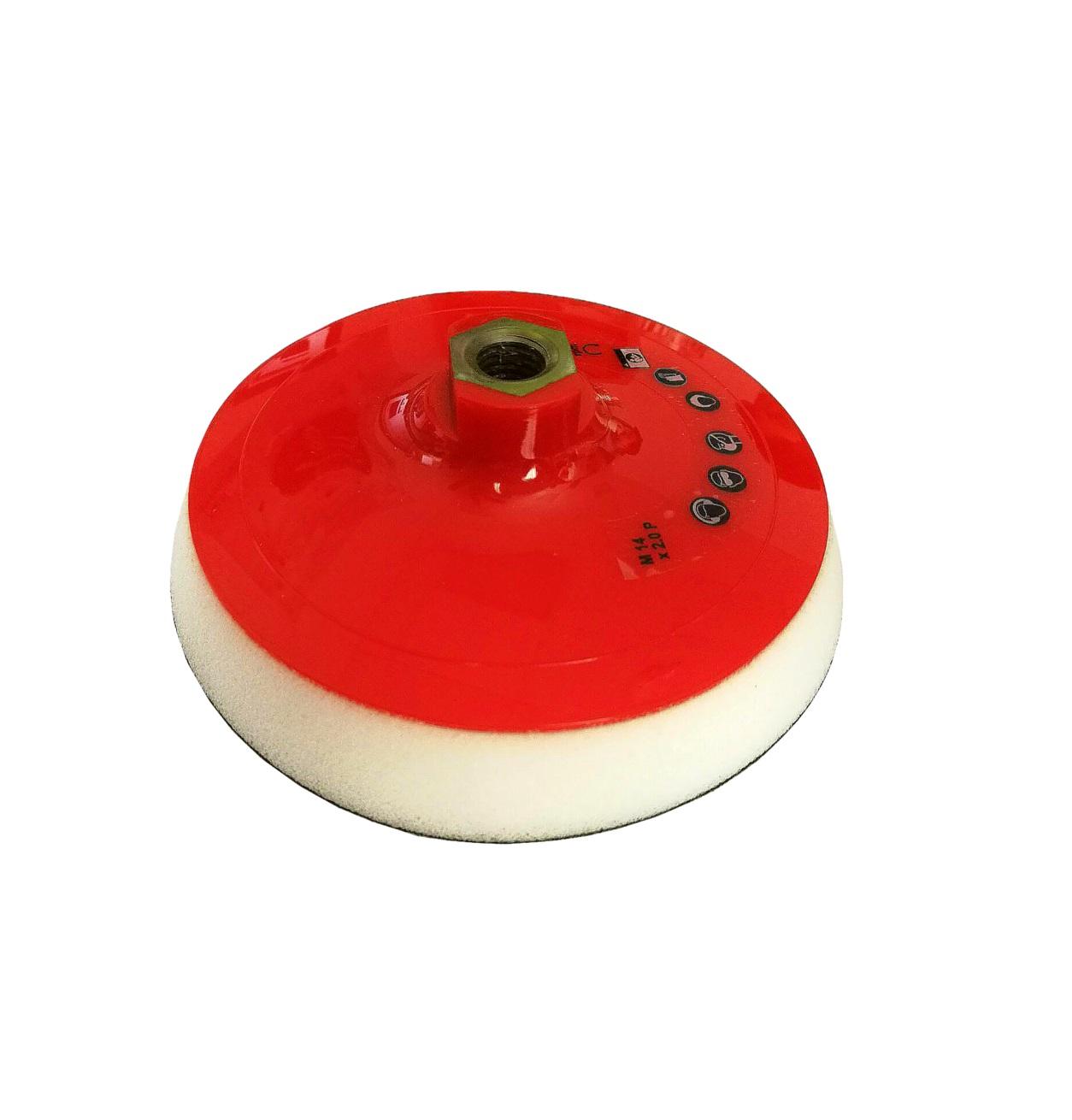 sp5024 Подложка для полировальных кругов Ø 123 мм / М14 мягкая для мехового круга