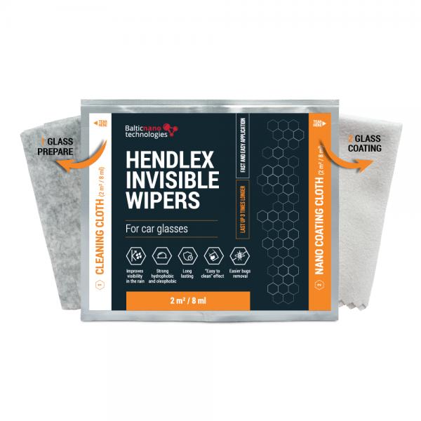 НАБОР САЛФЕТОК «АНТИДОЖДЬ» HENDLEX INVISIBLE WIPERS