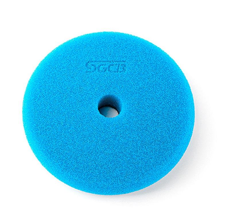 SGCB RO/DA Foam Pad Blue - Полировальный круг режущий синий 130/140 мм SGGA099