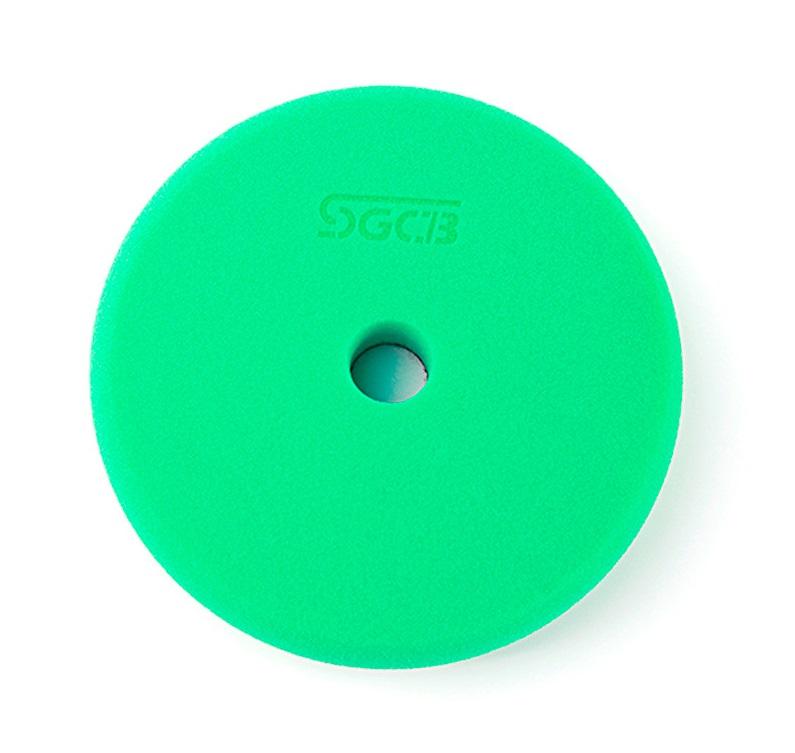 SGCB RO/DA Foam Pad Green - Полировальный круг твердый зеленый 130/140 мм SGGA100